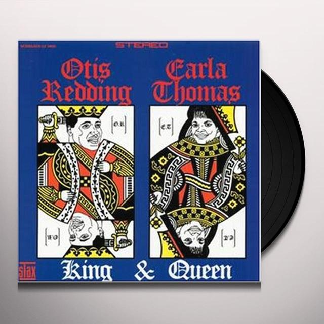 Otis Redding & Carla Thomas  KING & QUEEN Vinyl Record
