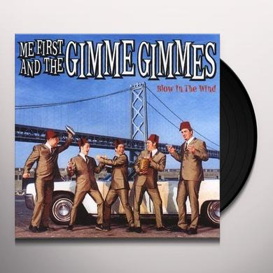 Me First and the Gimme Gimmes BLOW IN THE WIND Vinyl Record