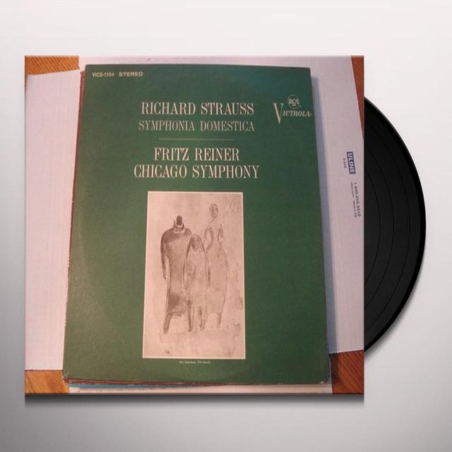 Reiner / Chicago Symphony Orchestra STRAUSS: SYMPHONIA DOMESTICA Vinyl Record