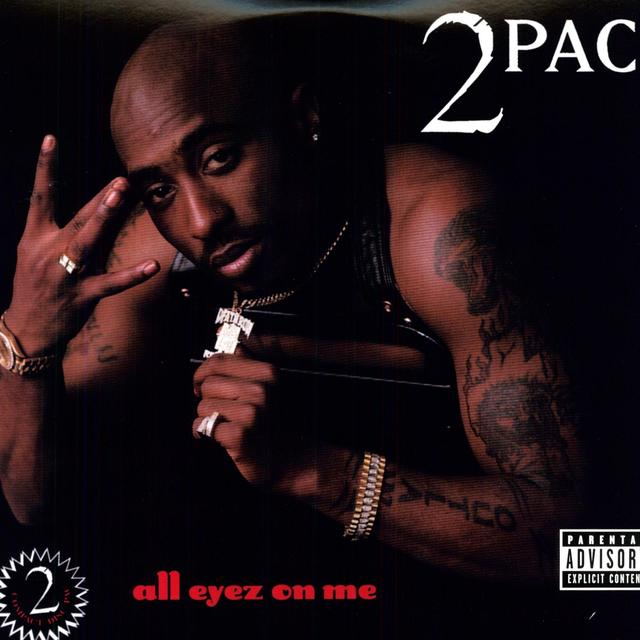 Tupac ALL EYEZ ON ME Vinyl Record