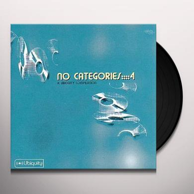NO CATEGORIES 4 / VARIOUS Vinyl Record