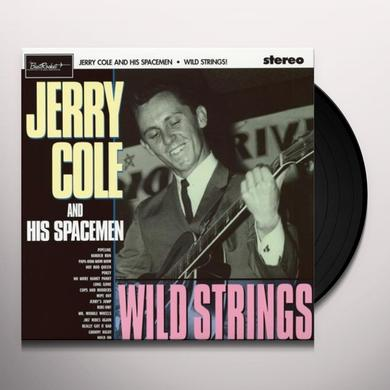 Jerry Cole & His Spacemen WILD STRINGS Vinyl Record