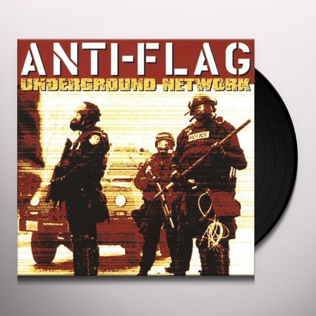 Anti-Flag UNDERGROUND NETWORK Vinyl Record