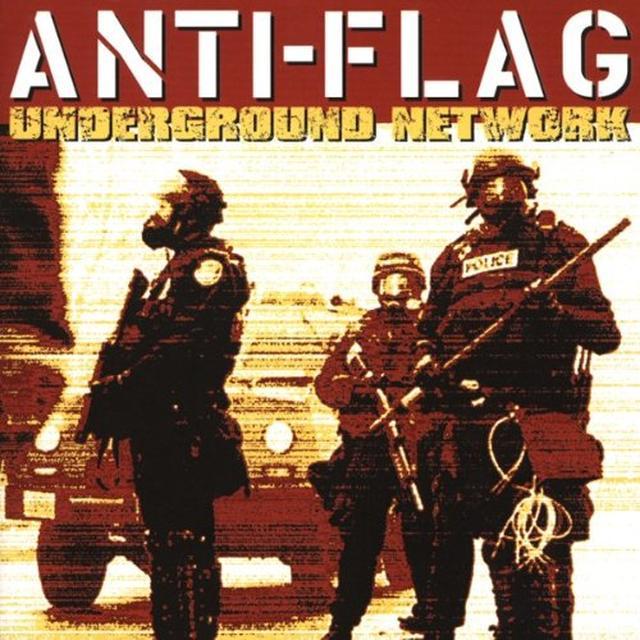 Anti-Flag UNDERGROUND NETWORK Vinyl Record