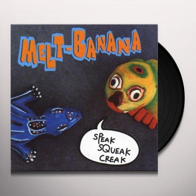 Melt Banana SPEAK SQUEAK Vinyl Record