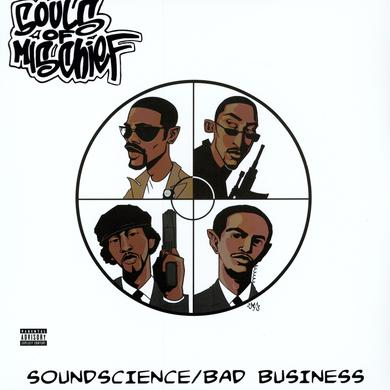 Souls Of Mischief SOUNDSCIENCE Vinyl Record