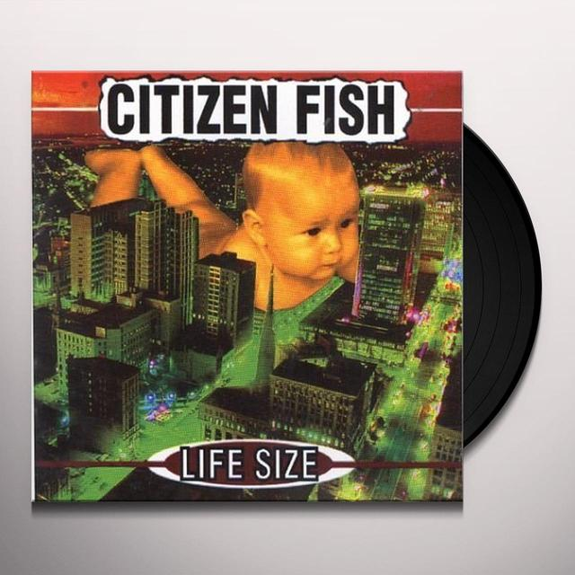 Citizen Fish LIFE SIZE Vinyl Record