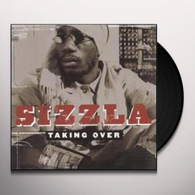 Sizzla TAKING OVER Vinyl Record