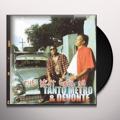 Tanto / Devonte Metro BEAT GOES ON Vinyl Record