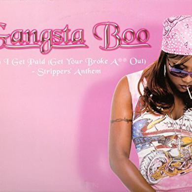 Gangsta Boo CAN I GET PAID Vinyl Record