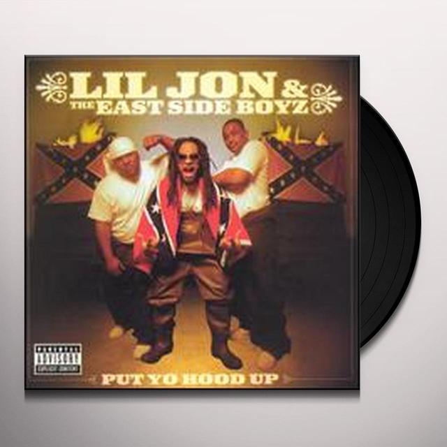 Lil Jon & Eastside Boyz PUT YO HOOD UP Vinyl Record