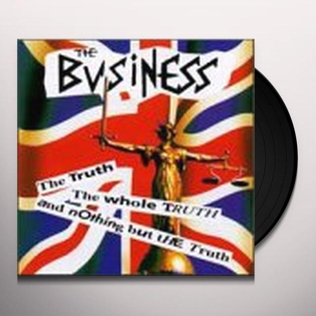 The Business TRUTH THE WHOLE TRUTH Vinyl Record