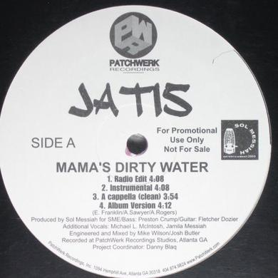 Jatis MAMA'S DIRTY WATER B/W AROMA Vinyl Record