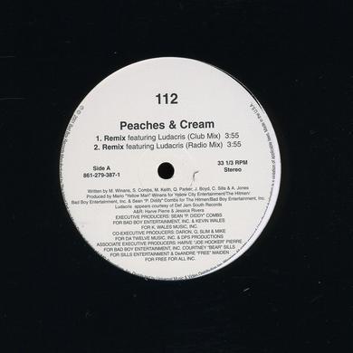 112 / Ludacris PEACHES & CREAM (X4) Vinyl Record
