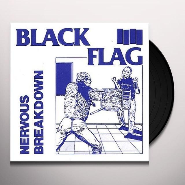 Black Flag NERVOUS BREAKDOWN Vinyl Record