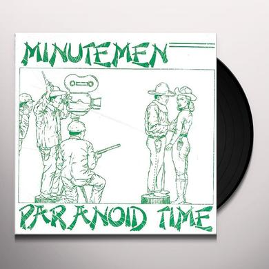Minutemen PARANOID TIME Vinyl Record