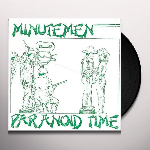 Minutemen PARANOID TIME Vinyl Record