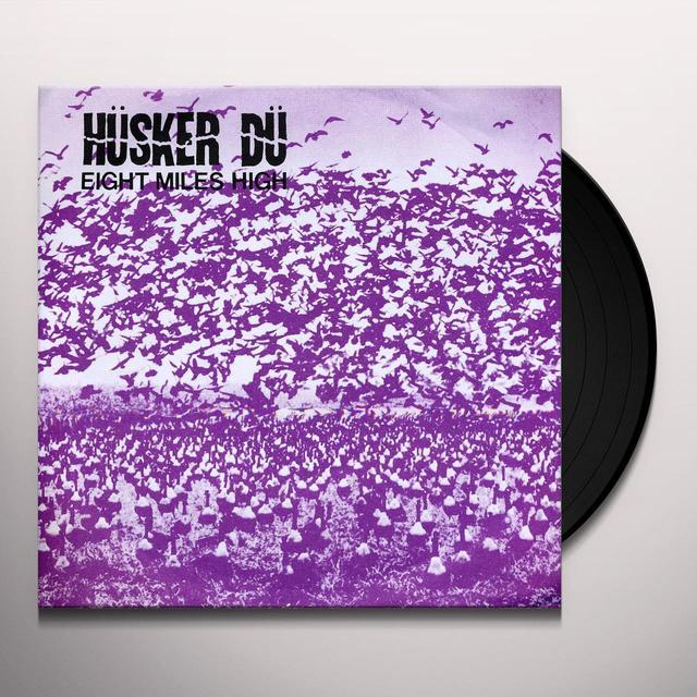 Hüsker Dü 8 MILES HIGH Vinyl Record