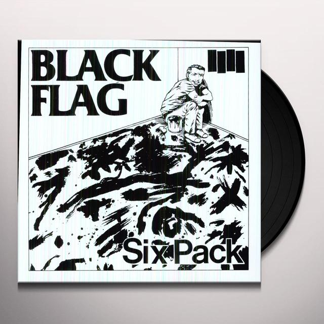 Black Flag SIX PACK Vinyl Record