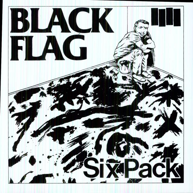 Black Flag SIX PACK (EP) Vinyl Record