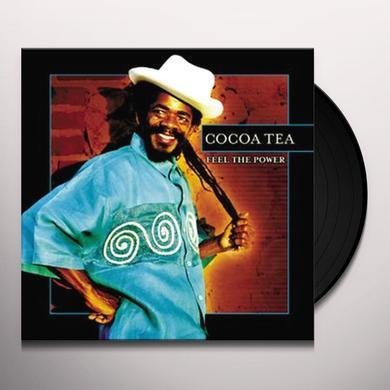 Cocoa Tea FEEL THE POWER Vinyl Record