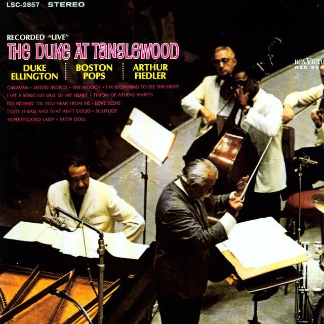 Duke Ellington DUKE AT TANGLEWOOD (Vinyl)