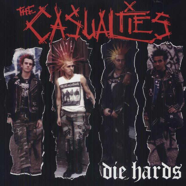 The Casualties DIE HARDS Vinyl Record - Colored Vinyl