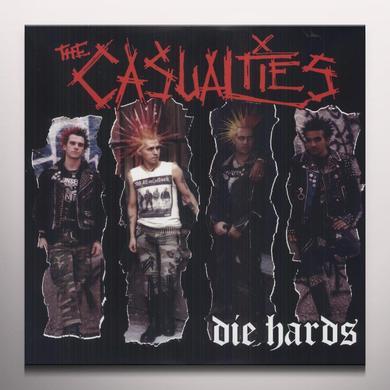 The Casualties DIE HARDS Vinyl Record - Colored Vinyl