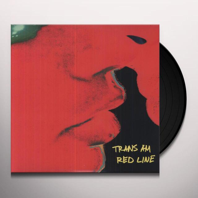 Trans Am RED LINE Vinyl Record