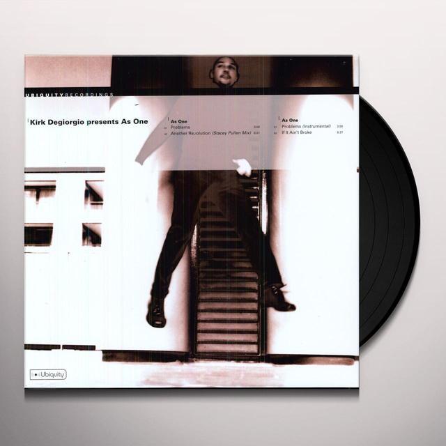 Kirk / As One Degiorgio CONTOURS / ANOTHER REVOLUTION Vinyl Record