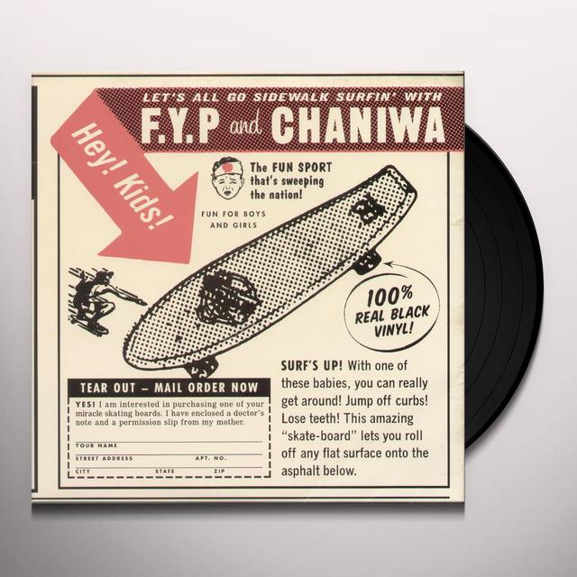 F.Y.P. / Chaniwa SPLIT EP Vinyl Record