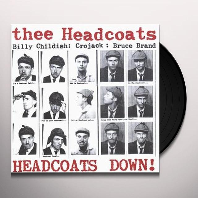 Thee Headcoats HEADCOATS DOWN Vinyl Record