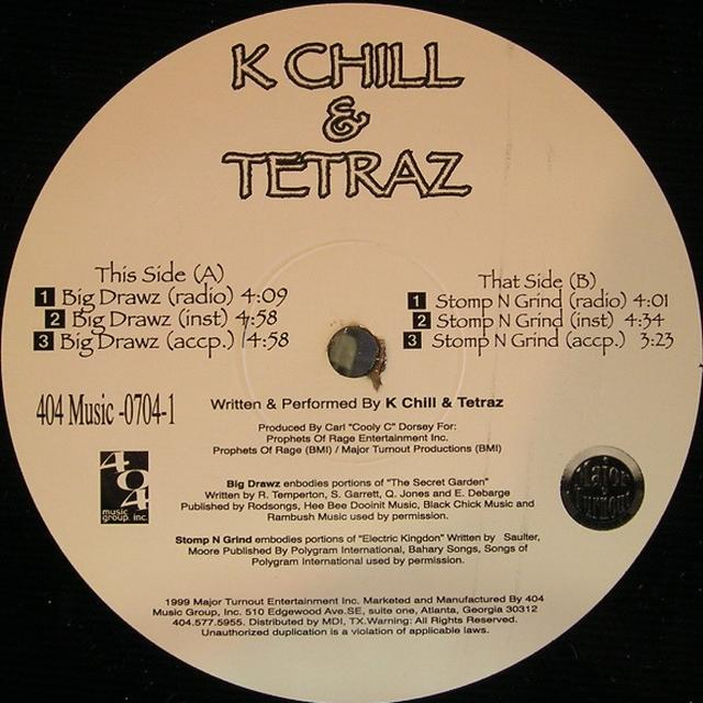 K-Chill & Tetraz BIG DRAWZ (Vinyl)
