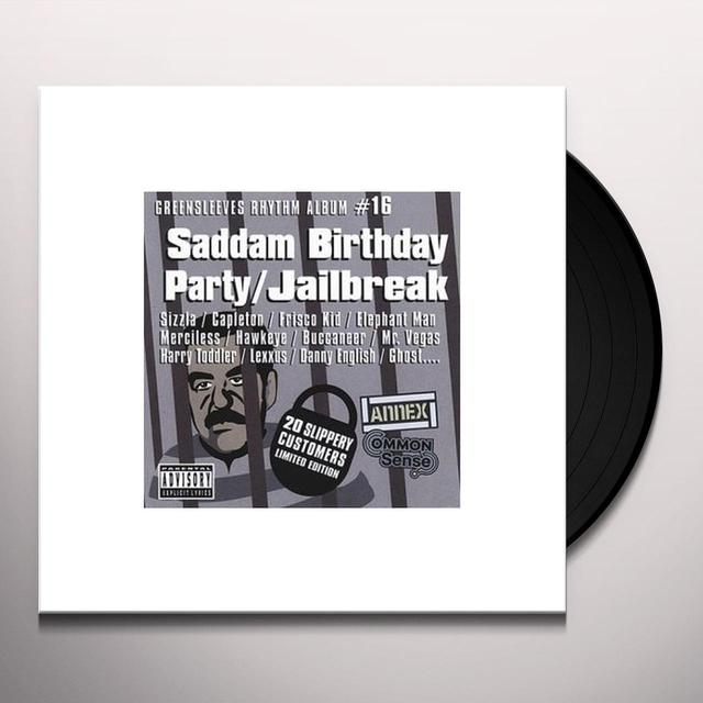 SADDAM BIRTHDAY PARTY: JAILBREAK / VARIOUS Vinyl Record