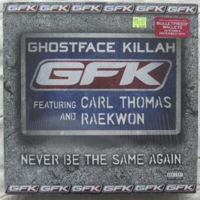 Ghostface Killah NEVER BE THE SAME AGAIN (X5) Vinyl Record
