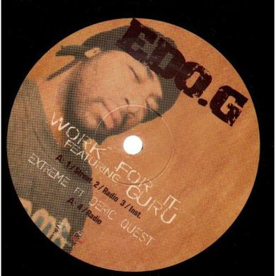 Edo.G. WORK FOR IT / SITUATIONS Vinyl Record
