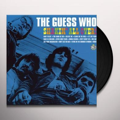 Guess Who SHAKIN ALL OVER Vinyl Record