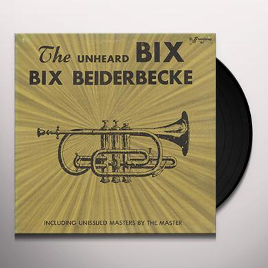 Bix Beiderbecke UNHEARD BIX Vinyl Record