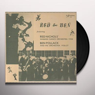 Red Nichols / Ben Pollack RED & BEN Vinyl Record