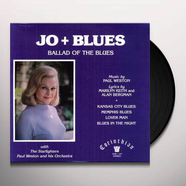 Jo Stafford JO & BLUES Vinyl Record
