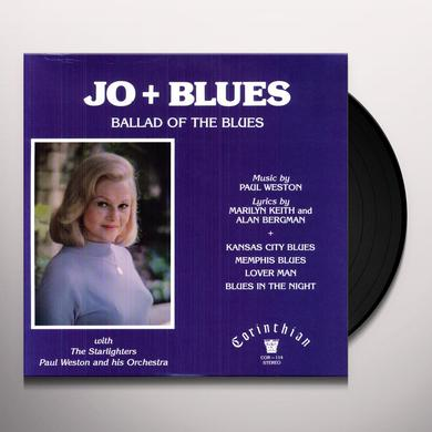 Jo Stafford JO & BLUES Vinyl Record