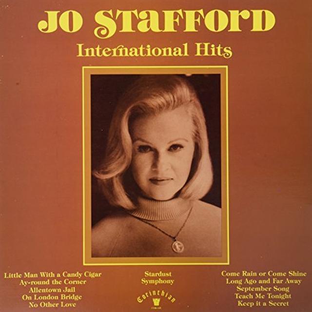 Jo Stafford INTERNATIONAL HITS Vinyl Record