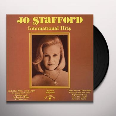 Jo Stafford INTERNATIONAL HITS Vinyl Record