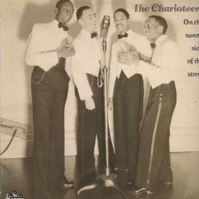 Charioteers ON THE SUNNY SIDE OF THE STREET Vinyl Record