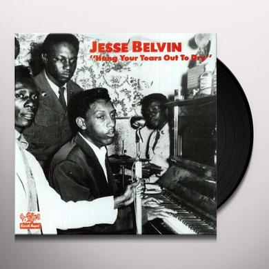 Jessie Belvin HANG YOUR TEARS OUT TO DRY Vinyl Record