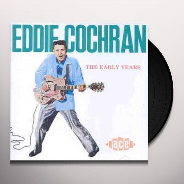 Eddie Cochran EARLY YEARS Vinyl Record - UK Import