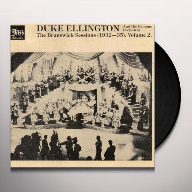 Duke Ellington BRUNSWICK SESSIONS 2 Vinyl Record