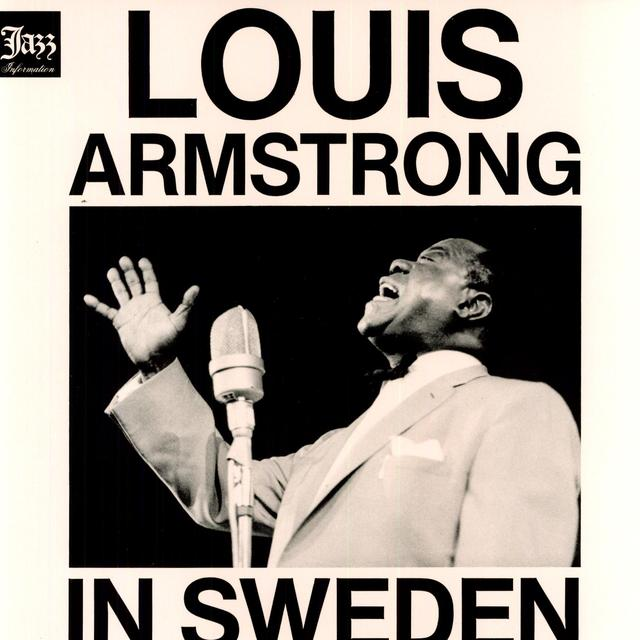 Louis Armstrong IN SWEDEN Vinyl Record