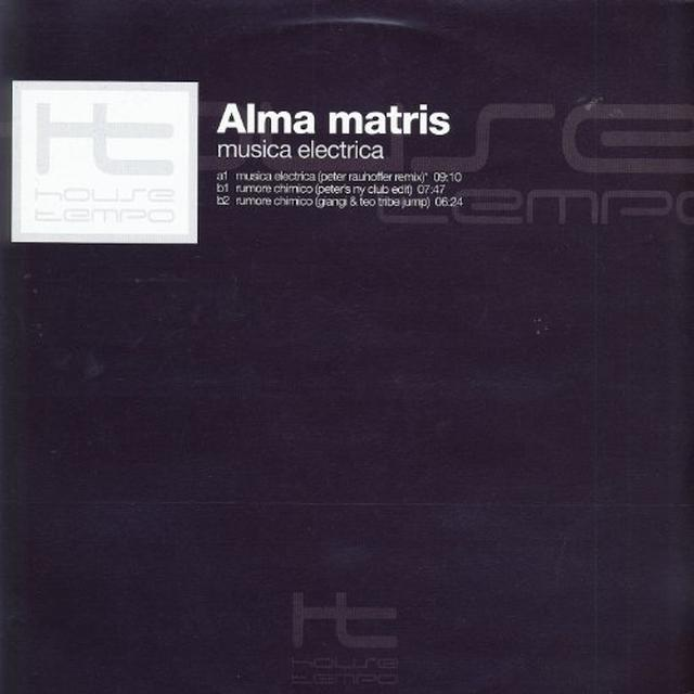 Alma Matris MUSICA ELECTRICA Vinyl Record