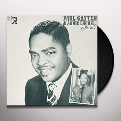 Paul Gayten / Annie Laurie CREOLE GAL Vinyl Record